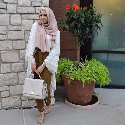 Hijab outfits in summery vibes \u2013 Just Trendy Girls