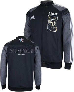 adidas Miami HEAT Dwyane Wade 2014 NBA All Star Jacket