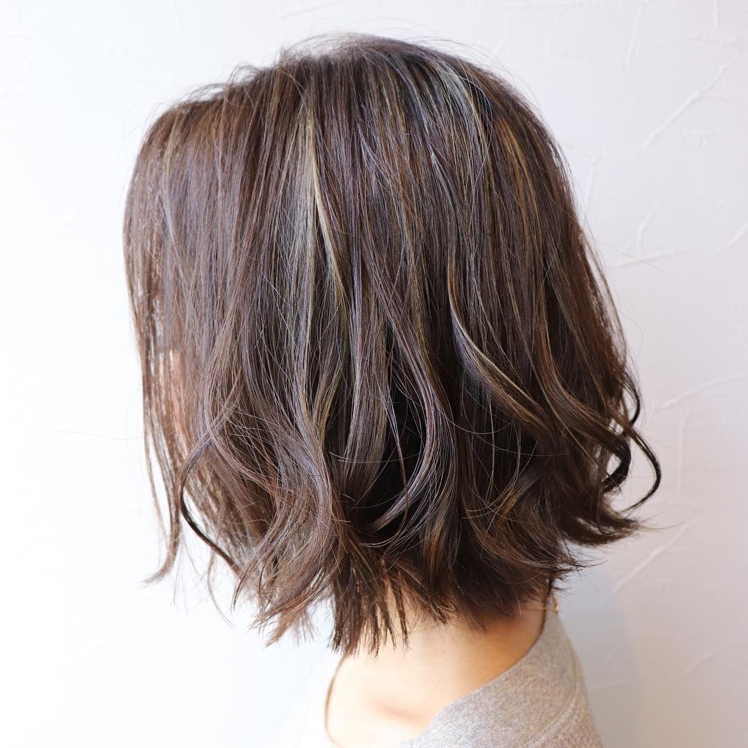 ハイライトカラーでおしゃれに Wealstar Hair Design 撮影 森田 ヘア