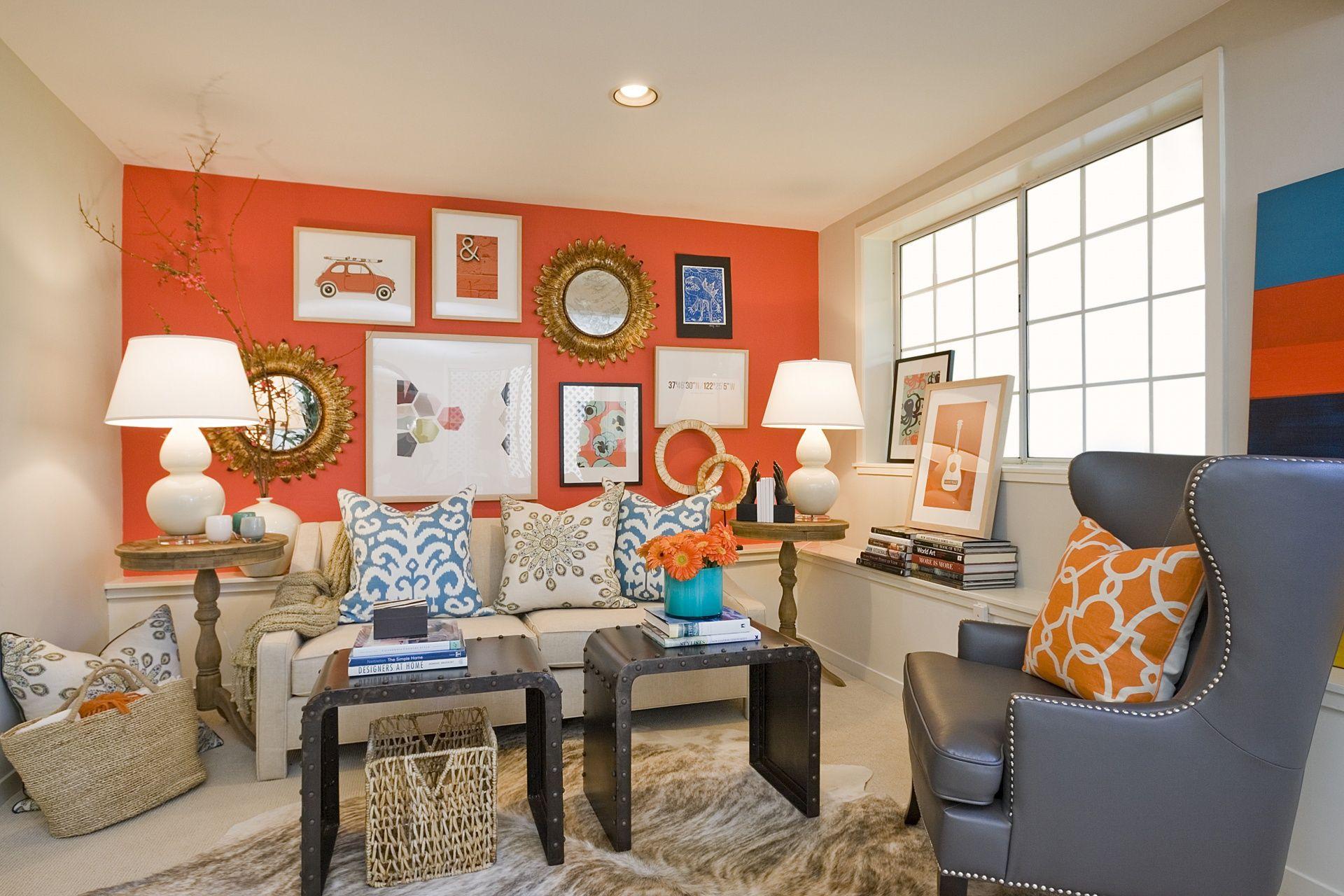 Persimmon punch tamara mack design interior design - Interior design san francisco bay area ...