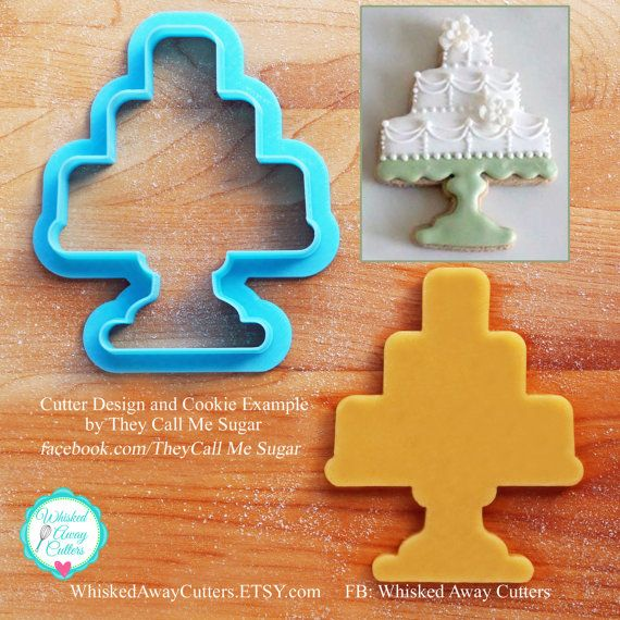 Susans Cake Stand Cookie Cutter
