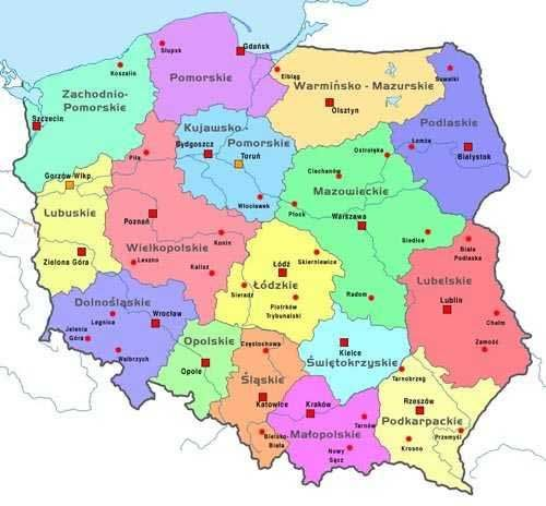 Poland Maps Of Poland Polska Pinterest Poland Map And Poland - Poland map