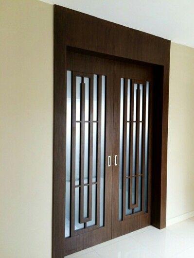 Puertas corredizas puertas modernas pinterest for Puertas principales metalicas modernas