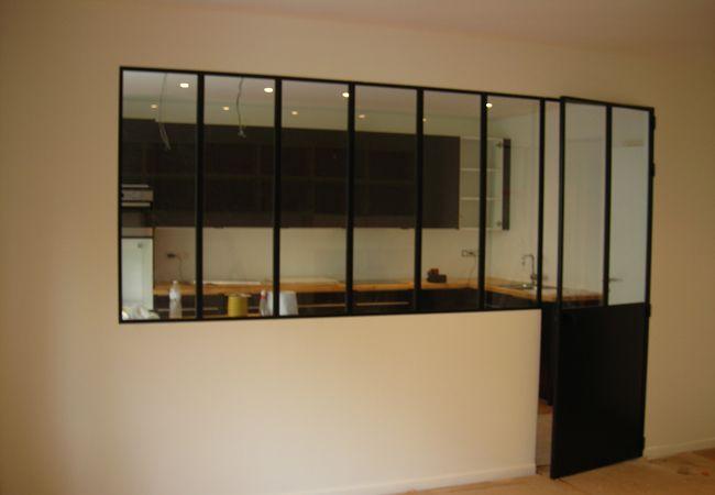 defi m tallerie installation de verri res d 39 int rieur sur mesure cuisine pinterest. Black Bedroom Furniture Sets. Home Design Ideas