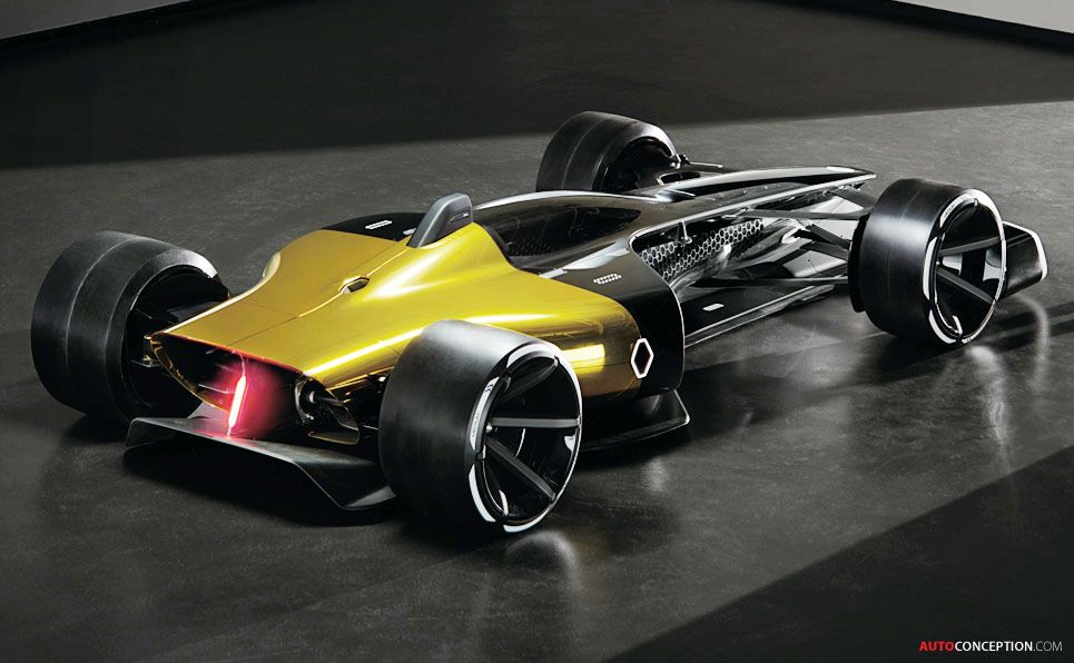 Renault R S Vision Concept Previews Racing Cars Of The