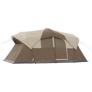 Coleman Weathermaster 10 Person Hinged Door Tent | Overstock.com Shopping - The Best Deals  sc 1 st  Pinterest & Coleman Weathermaster 10 Person Hinged Door Tent | Overstock.com ...