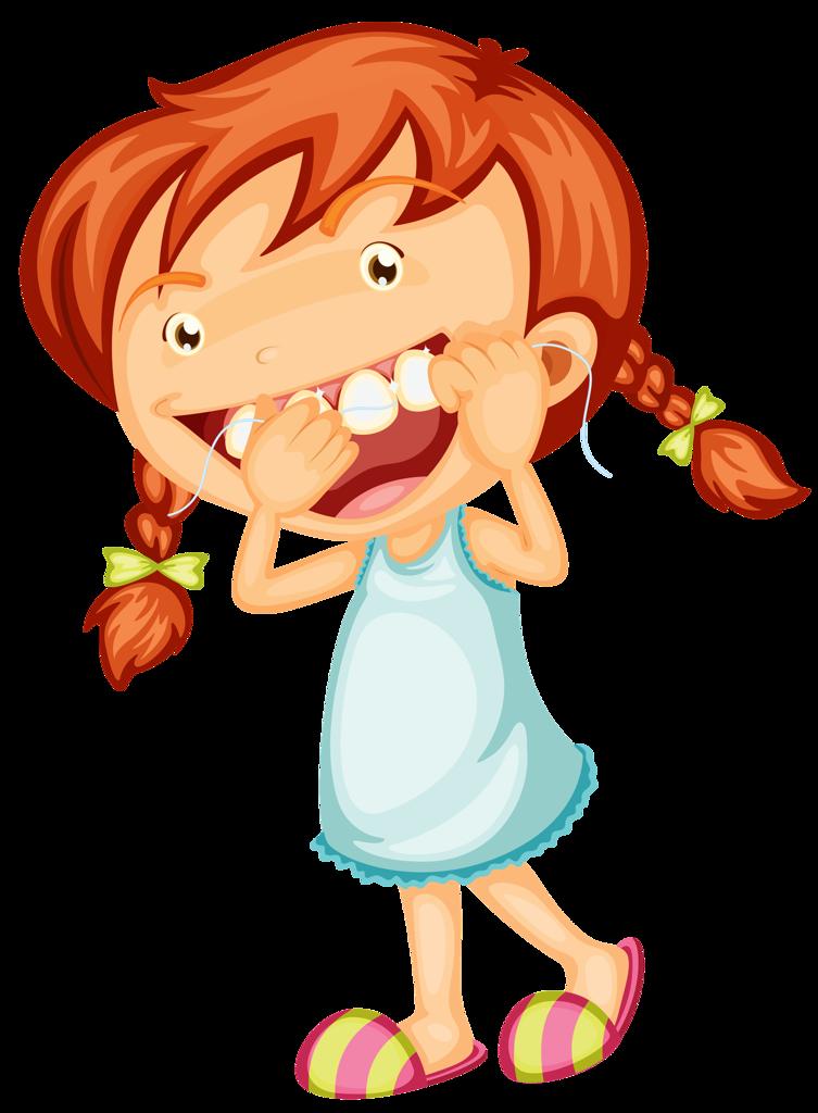 Смешная девчушка рисунки