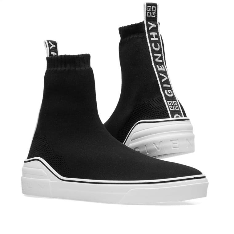 Givenchy 4G Logo Webbing Sock Sneaker