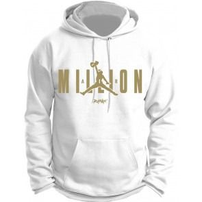 b4e4151d5875db Jordan 12 OVO Hoodie - Million Air - White