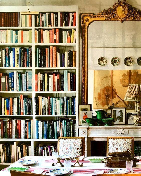 Paris home of textile designer Carolina Irving Milieu