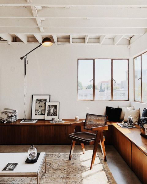 Nathan mueller the apartment by line los angeles home decor styles also interiors rh pinterest