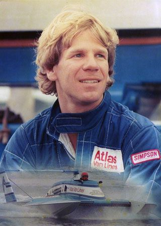 Chip Hanauer 1982 Atlas Van Lines, by far one of the best Hydroplane pilots of all time