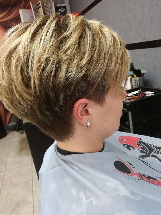Best Pixie Haircuts For Short Hair To Sport In 2019 Page 22 Of 34 Frisuren Kurze Haare Blond Haarschnitt Kurz Pixie Frisur