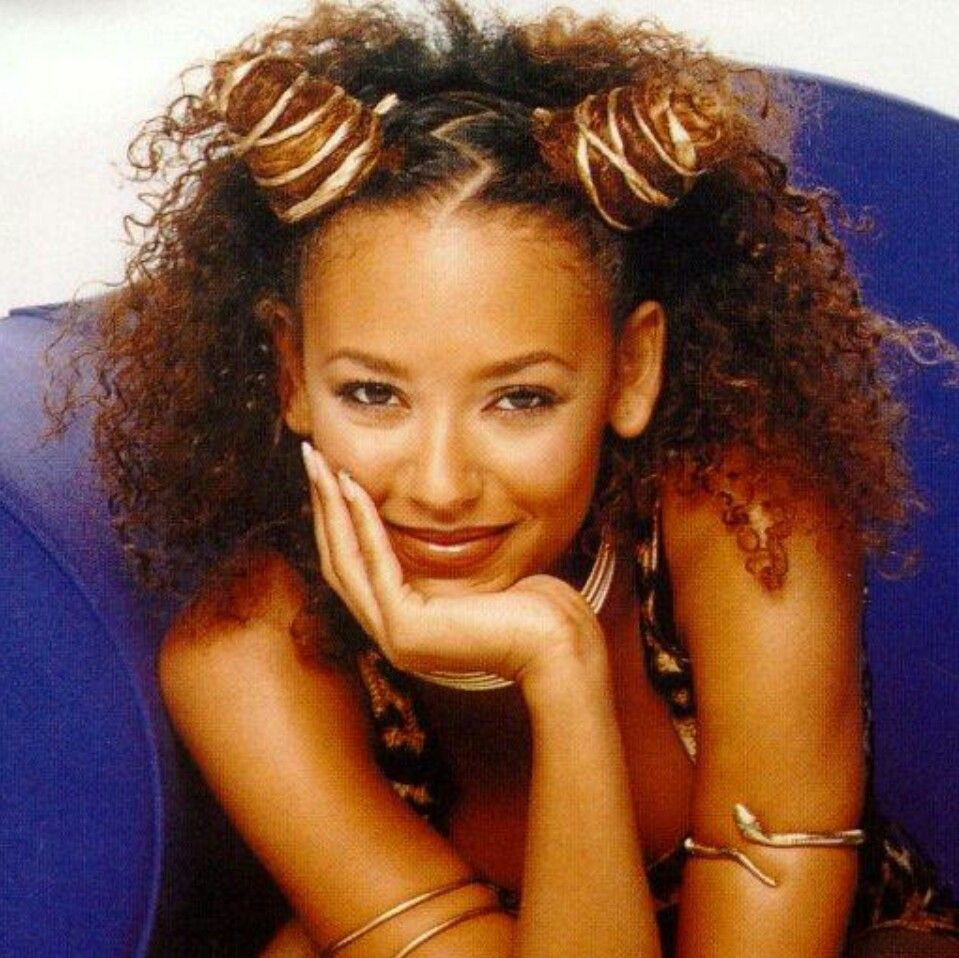 Scary Spice With Her Natural Hair Diy Natural Hair Hairstyles