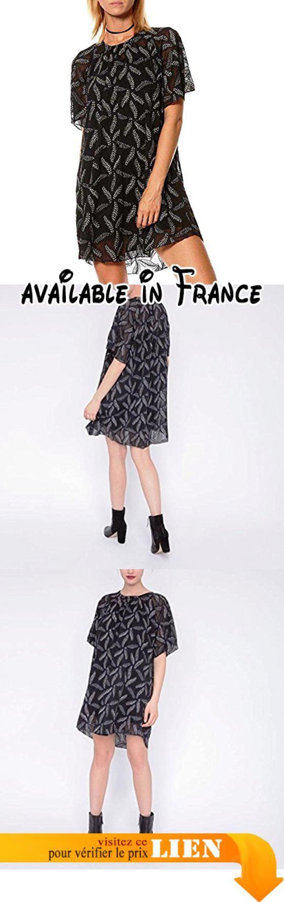 Robe brodée en voile SUNCOO pour femme.  #Apparel #SHIRT
