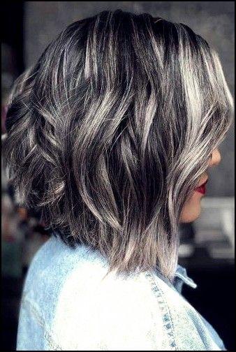 21 Trend Salz Und Pfeffer Frisuren Fur Frauen In 2020 Frisuren Langhaar Silbernes Haar Highlights Graue Haare