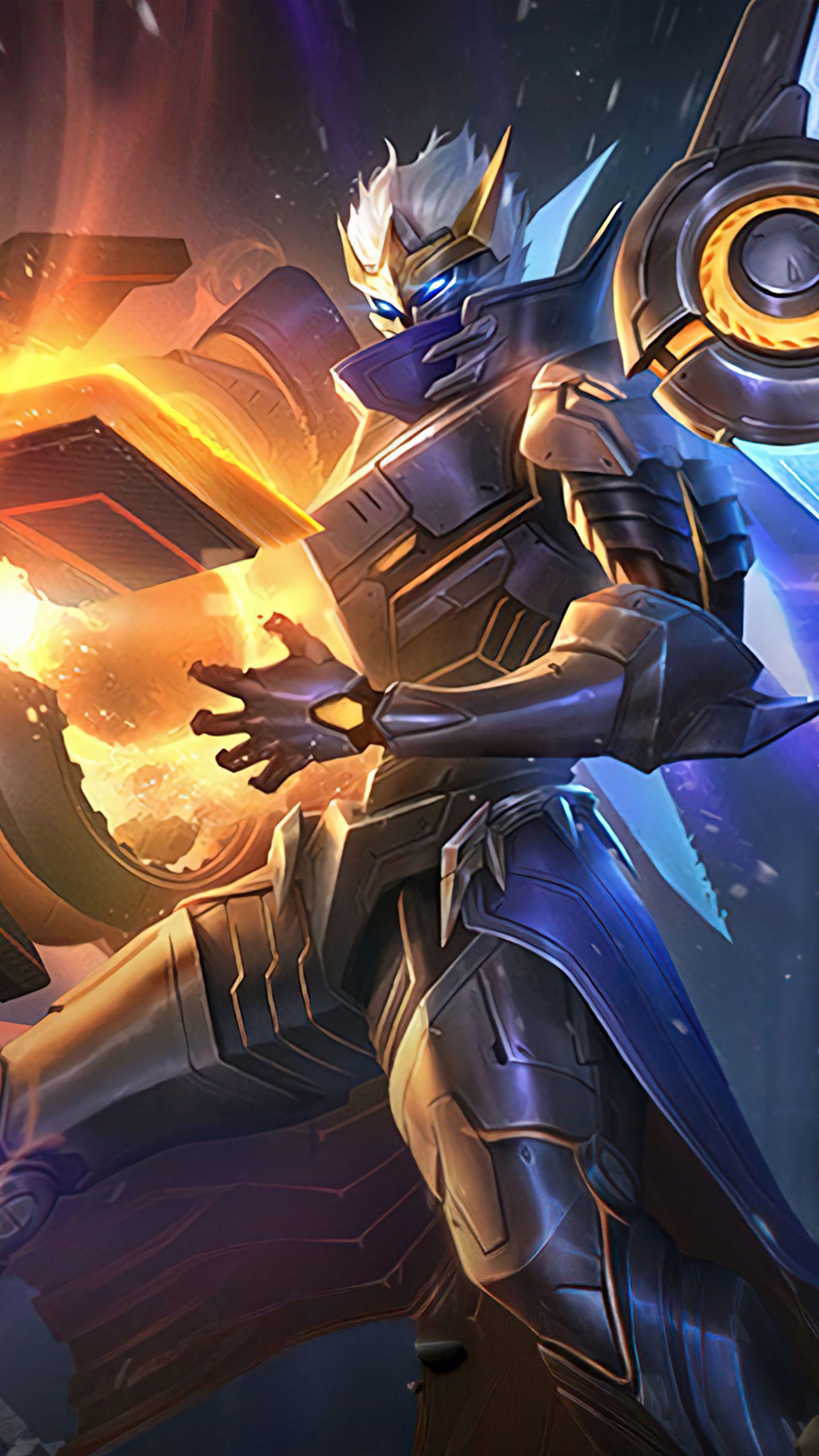 Granger Starfall Knight Mobile Legends 4k Ultra Hd Mobile Wallpaper In 2021 Mobile Legends Mobile Legend Wallpaper Alucard Mobile Legends