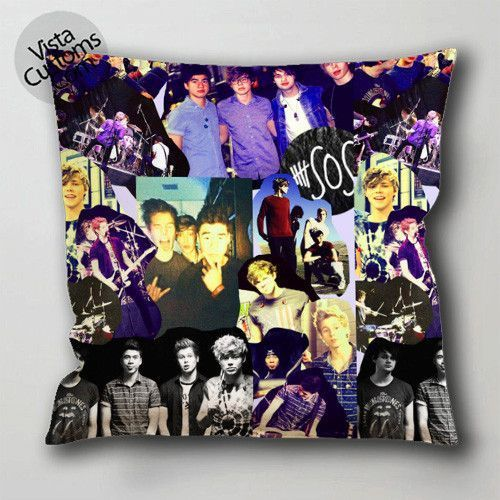 40 Sos Collage 40 Pillow Case Cushion Cover 40 Or 40 Side Print With Extraordinary 36 Inch Square Pillow Cover