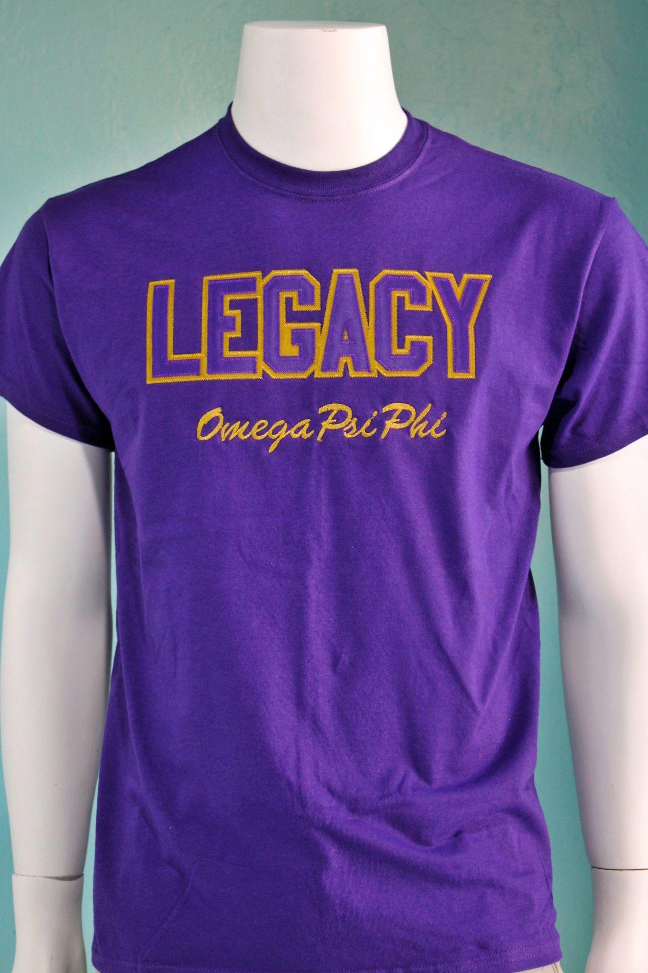 226c7f40592 Omega Psi Phi Legacy Tee