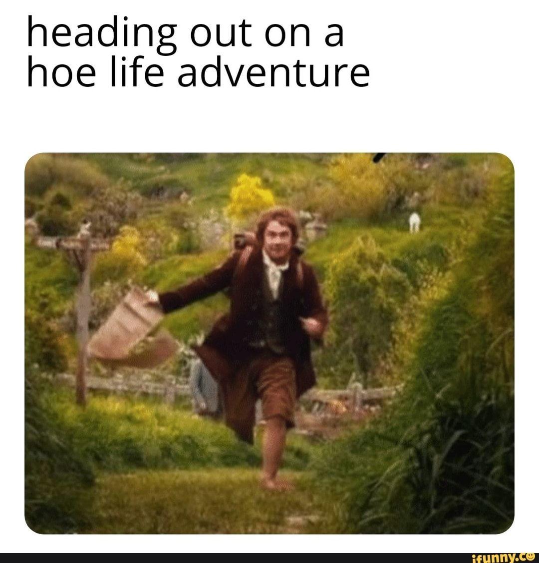 Life Is An Adventure Meme