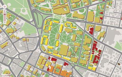 Pin By Ashley Baker On Hong Kong And Maps Campus Map Harvard