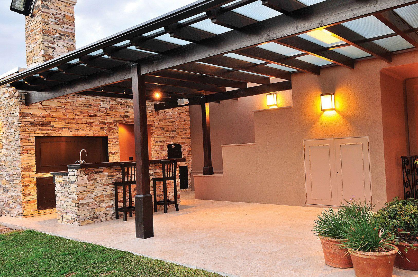 23 Terrazas modernas con asador