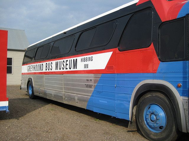 Greyhound Bus Museum In Hibbing Mn Minnesota Tourism Greyhound Bus Bus