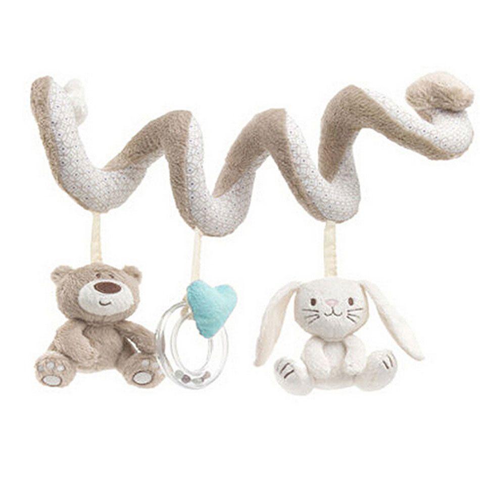 Infant Rattle Toys Crib Stroller Newborn Baby Hanging Bell Car Bedside Bells