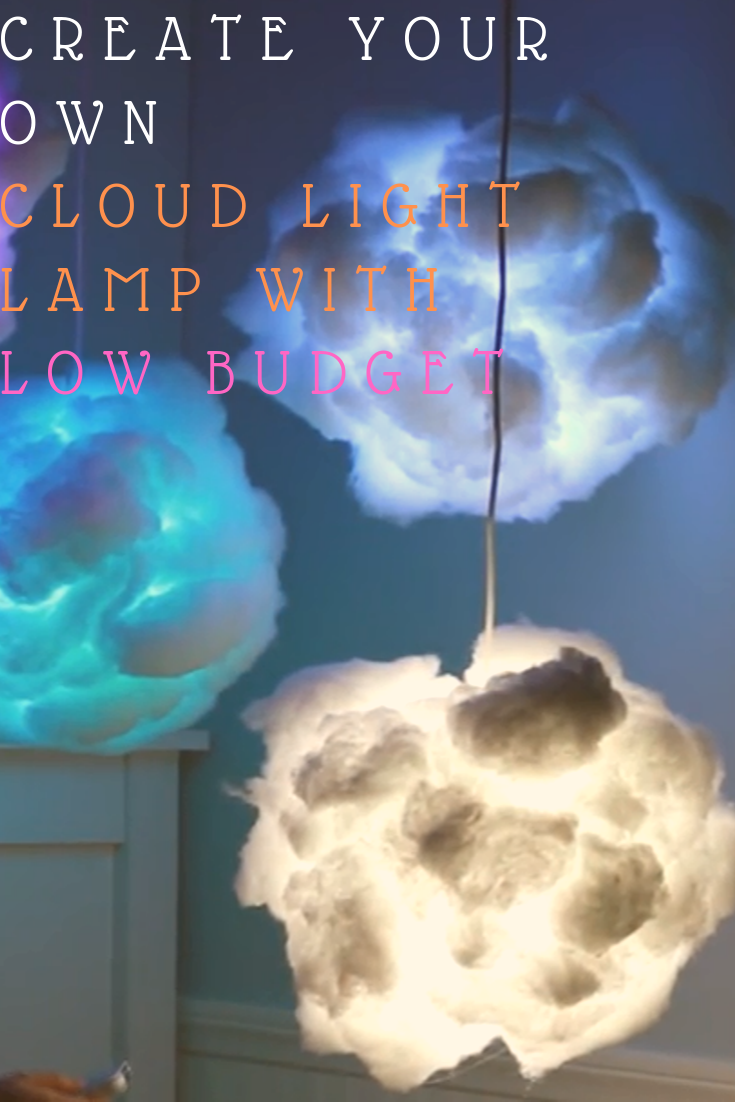 How To Make a Led Clouds Decoration Cloud Art Ideas for You