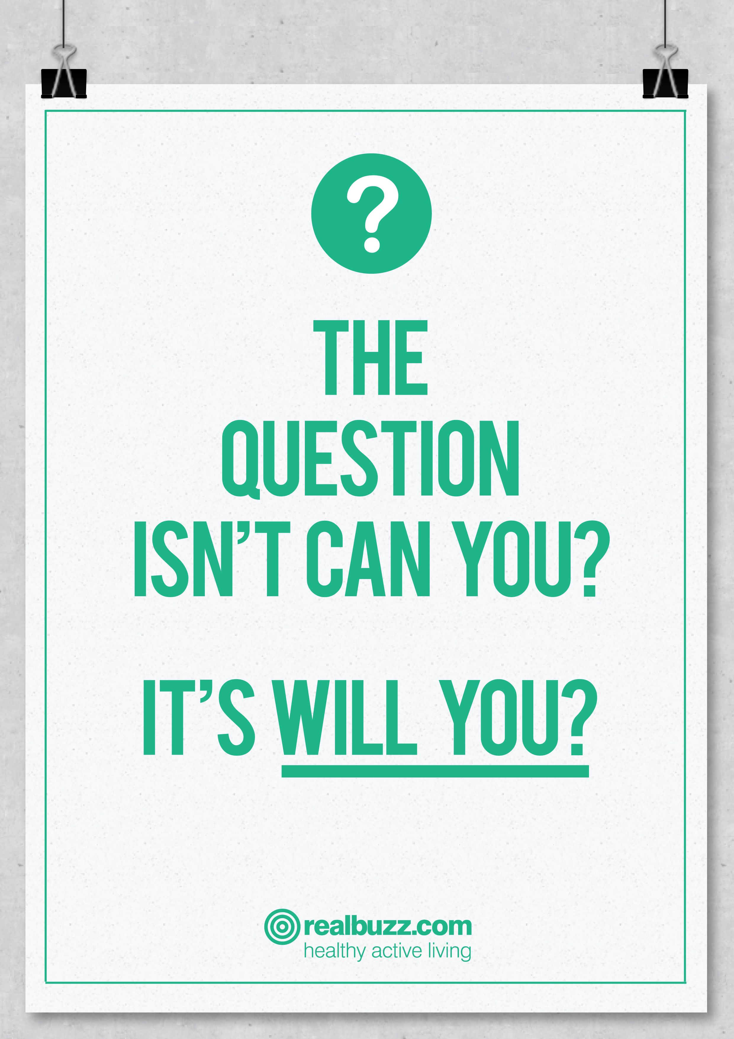 Motivating and inspiring question.  This or that questions