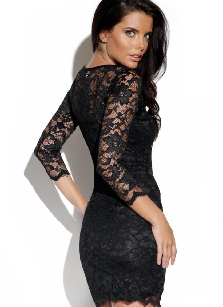black lace dress - Google Search | Last Run and Farewell ...