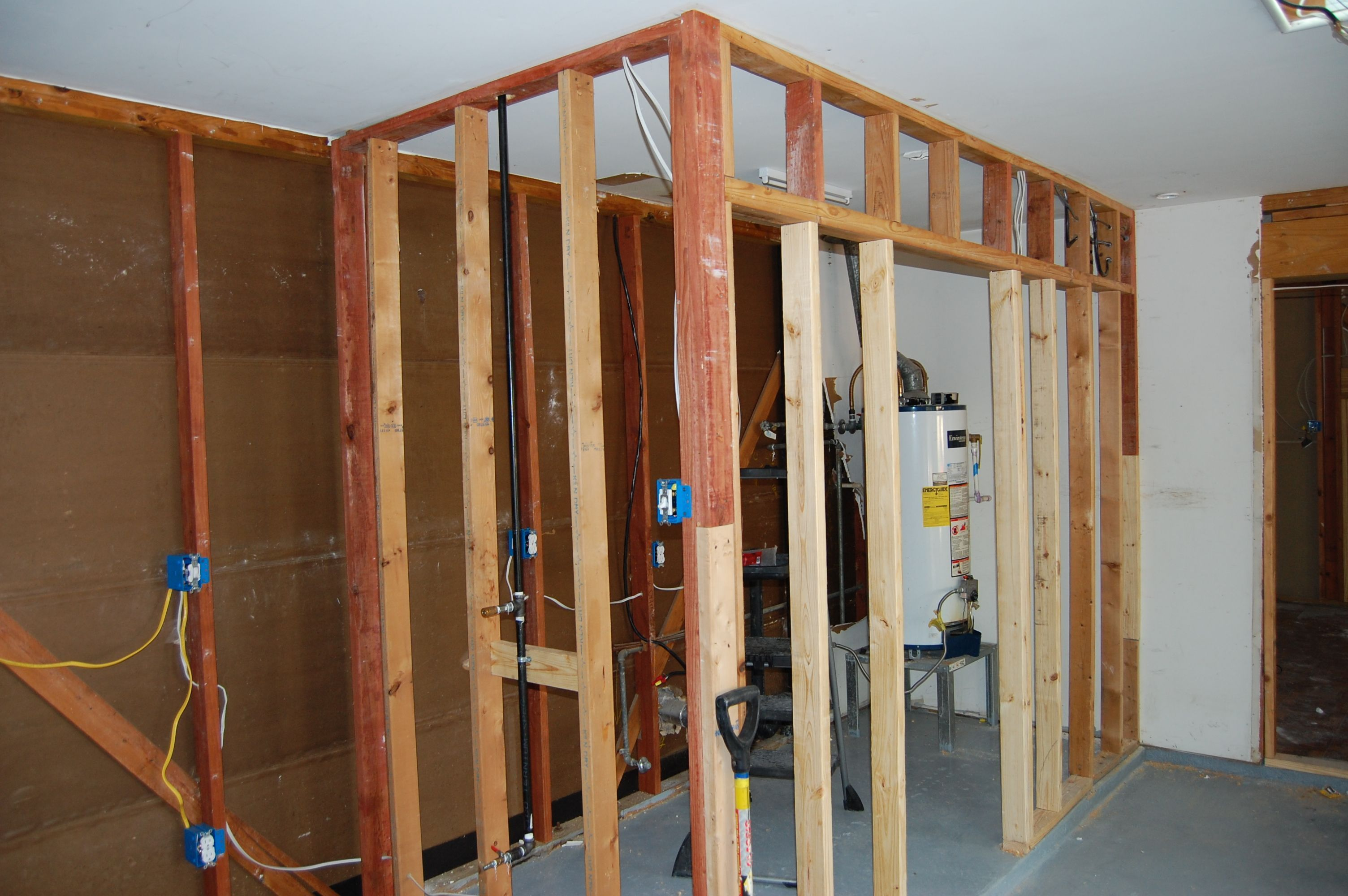 Building My Laundry Room In The Garage