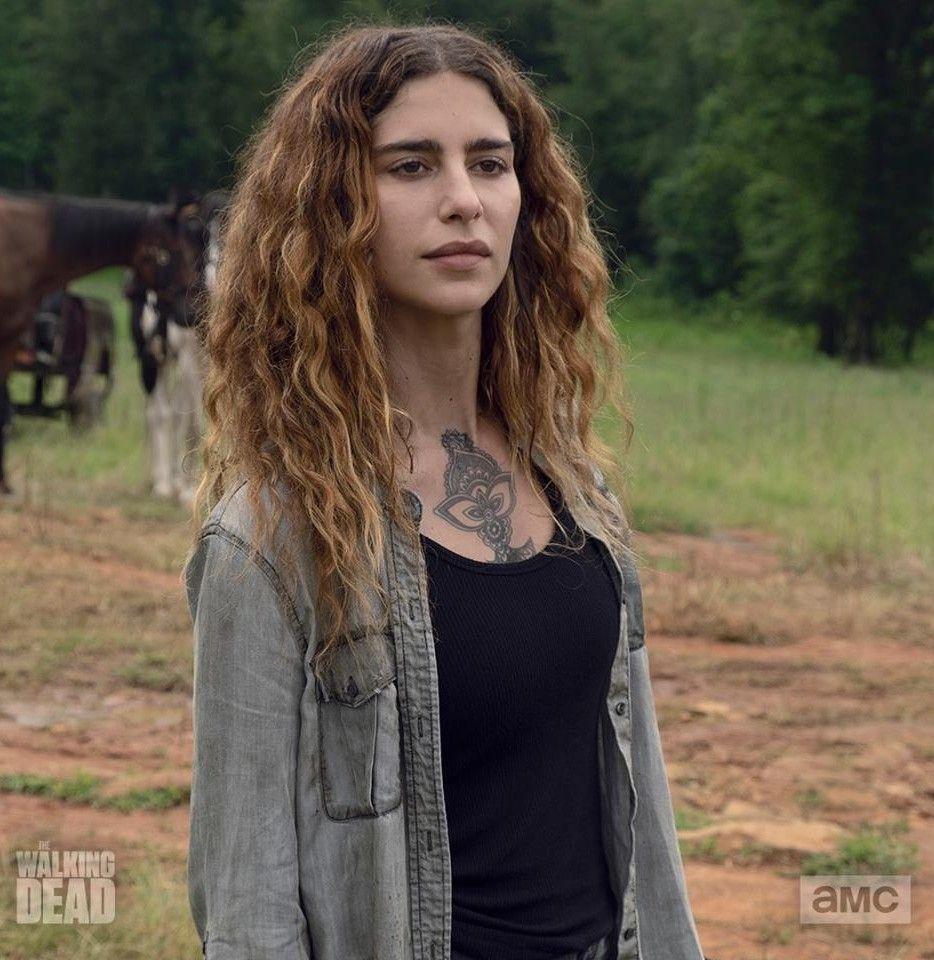 Nadia Hilker Nadia Hilker The Walking Dead Jessie Anderson