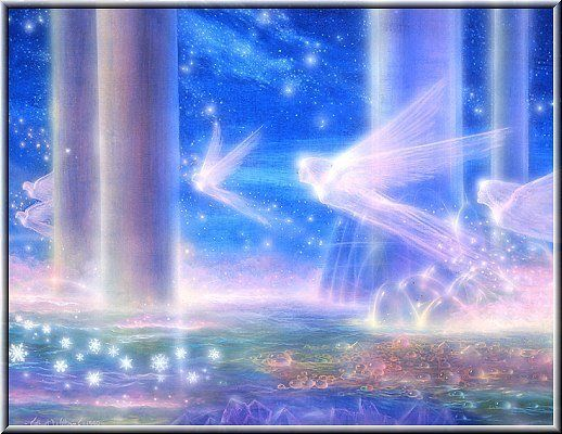 Elementais do Ar - Silfos e Fadas | Anjos, Fadas, Mestres ascensos