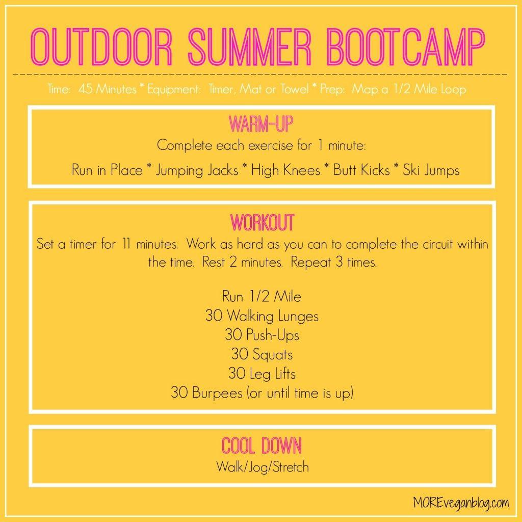 Outdoor Summer Boot Camp | Running | Pinterest | Summer ...