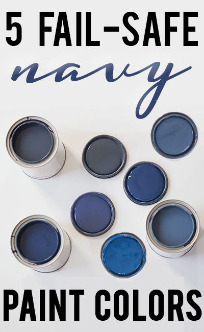 Five Beautiful Navy Blue Paint Colors Benjamin Moore Old
