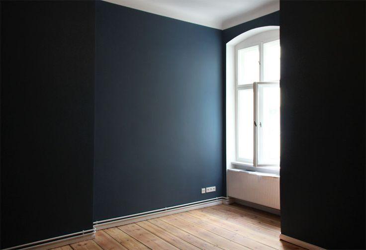Stiffkey Blau, Farrow & Ball, Wandfarben, dunkle wände