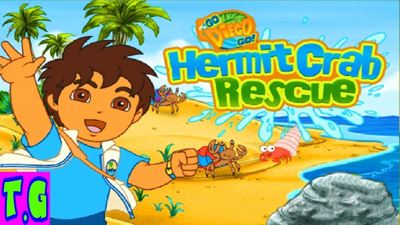 Game Diego Hermit Crab Rescue