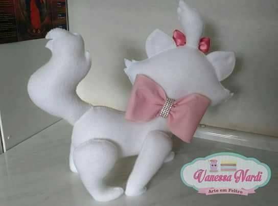 Amo las manualidades: Kitty Marie con molde -  Amo las manualidades: Kitty Marie con molde  - #Amo #con #Gatosartesanato #Gatosmanualidades #kitty #las #manualidades #marie #molde #tudosobreGatos