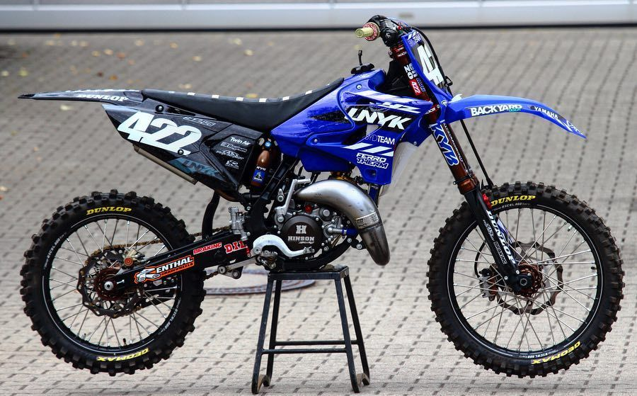 Our Yz125 Project Bike On A Twostroketuesday Swipe Through