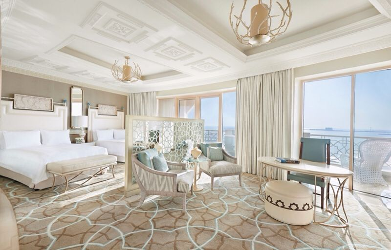 Waldorf Astoria Ras Al Khaimah uae Luxurious bedrooms