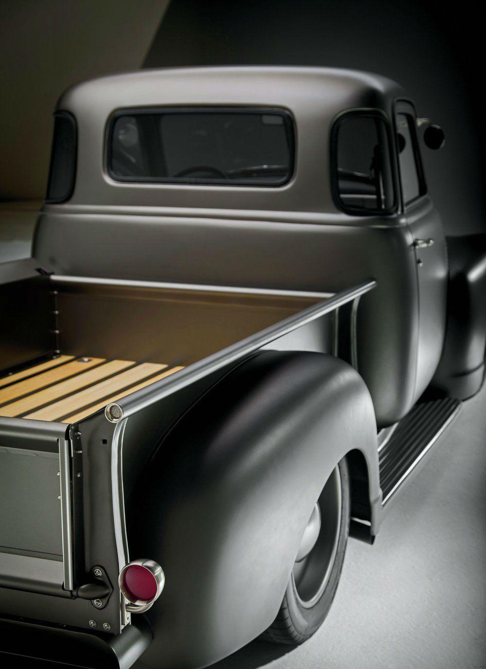 Pickup 48 chevy pickup parts : 1950-chevy-pickup-rear-profile...restomod | Tristan's board 6 ...