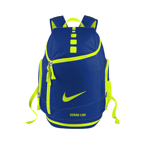 ee9f3b2235f0 My customized Nike Hoops Elite Max Air Team iD Backpack that will be  delivered by May