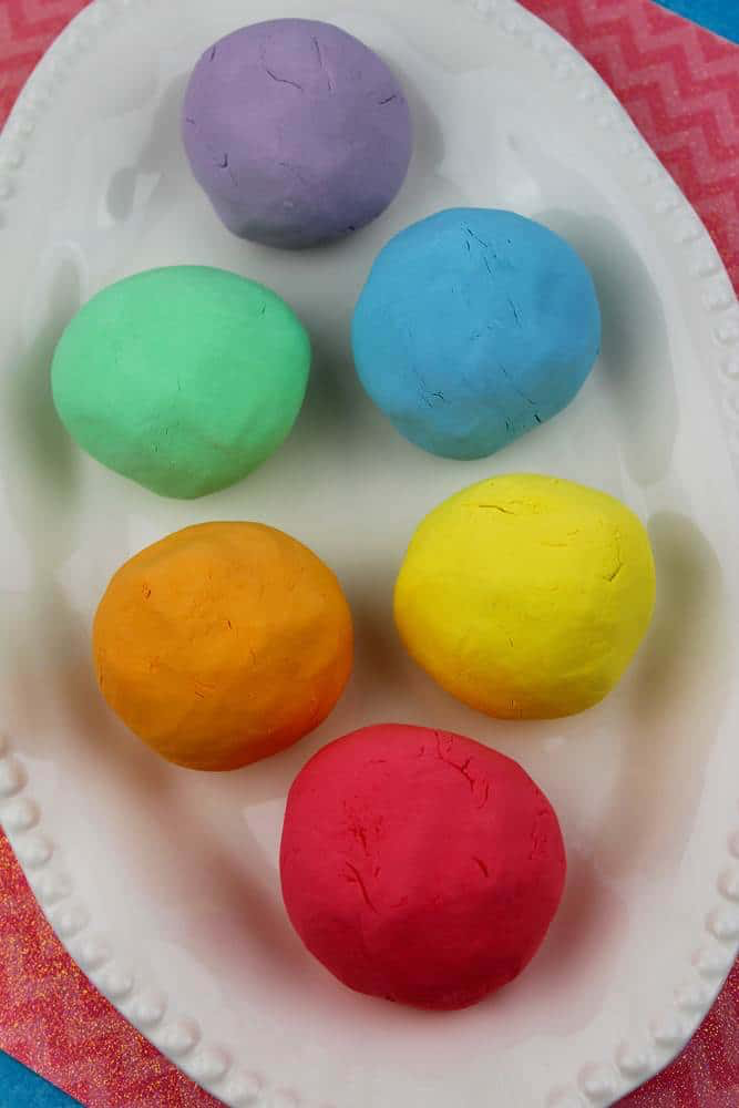Easiest Playdough without Cream of Tartar 3 SIMPLE