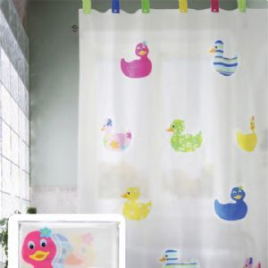Fancy Rubber Duck Shower Curtain Duck Shower Curtain Bathroom