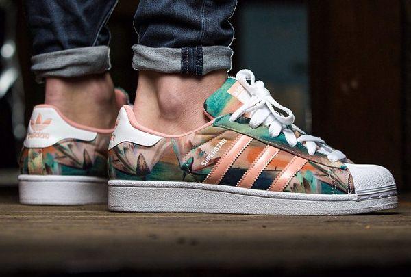 Adidas Superstar W (PinkMulticolor) : où l'acheter ? | Schuhe