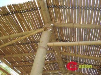 Charmant Creasian Bamboo Patio Cover