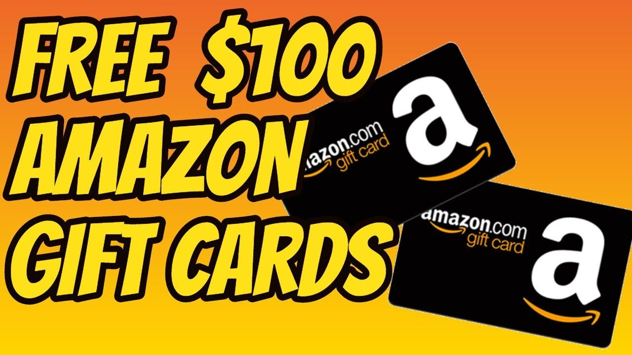 Free Amazon Gift Cards How To Get Free Amazon Gift Cards 2020