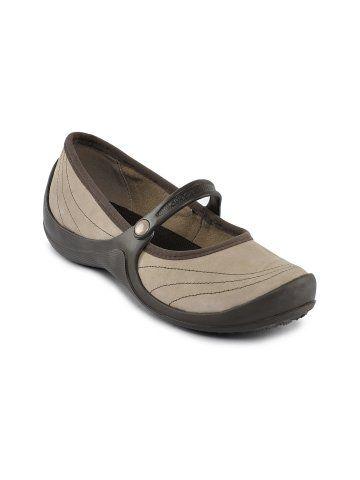 Crocs Women Wrapped Beige Casual Shoes