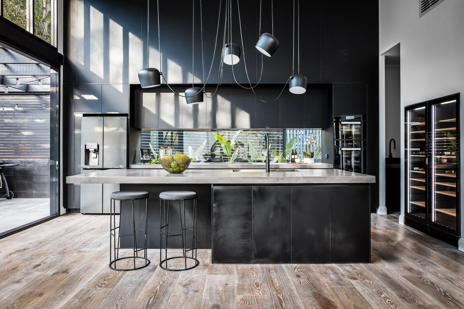 Glamorgan Street By Dah Architecture Loft Style Living Concrete Kitchen Kitchen Remodel